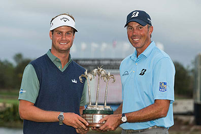 Harris English & Matt Kuchar
