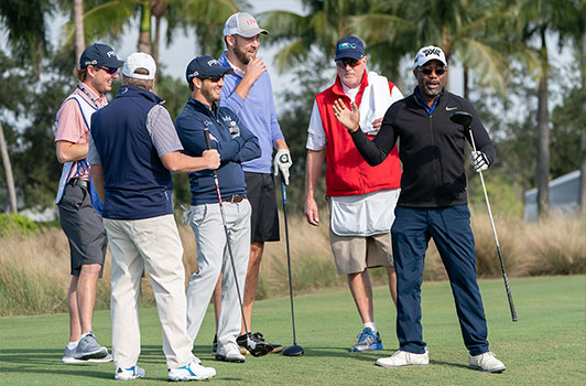 Charles Kelley and Darius Rucker in the 2018 Pro-Am